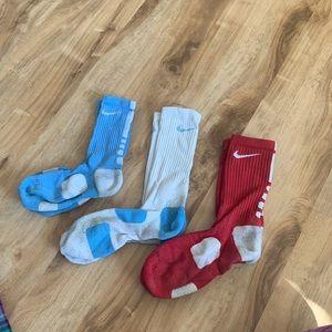 FINAL PRICE DROP Nike elites socks 3 pack